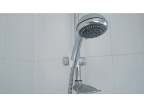 Shower head holder adaptor