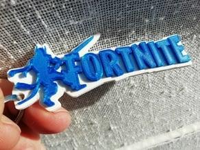 Fortnite keychain The Ice King