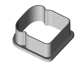 Cookie cutter: slice of bread