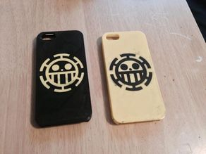 Heart Pirates iPhone 5 case