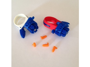 Ring Revolver Toy maintenant il lance des progectiles , Now he launches projectiles