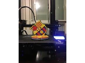F.C. Barcelona escudo 3D