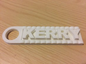 Key Ring, Letters!