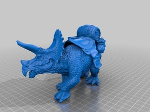 Triceratops beast of Burden for DnD