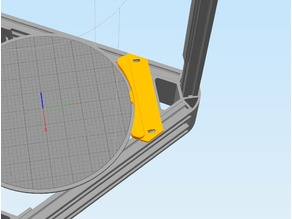 Anycubic tower bed clamp
