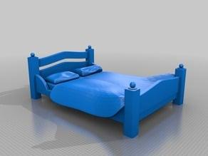 Fancy King Sized Bed