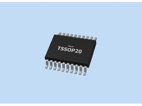 Model - TSSOP20 IC Package