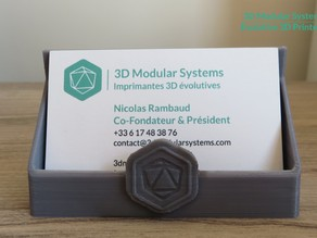 Scalar - Business Card Stand