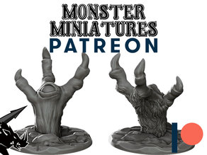 The Hand - JOIN OUR Monster Miniature PATREON