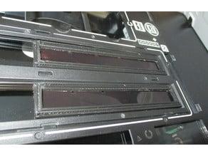 110 type film strip holder for flatbed scanner