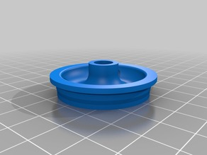 Front tire and hub for Ford 8000 die cast toy tractor