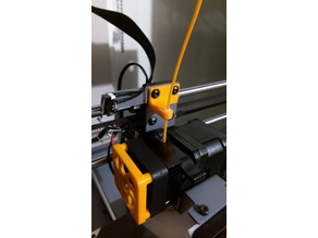 Extended Filament Guide for Wanhao i3 plus