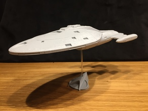 NCC-74959 Voyager - No Support Cut