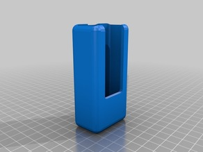 My Customized Parametric Remote Control Holder