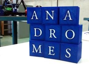ANADROMES 3D LOGO