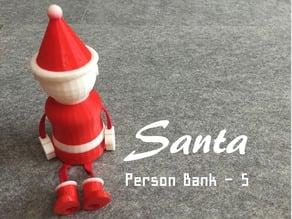 Person Bank - Santa