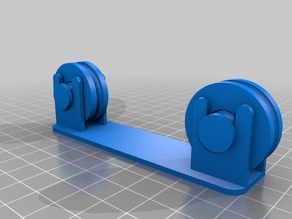 Fully printable easy spool holder