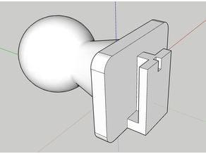 Dashcam Multiposition Ball Socket Mount Piece