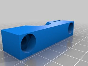 Alternate sliding sensor mount and hot end clamp