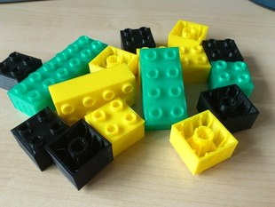 Duplo compatible bricks - pick your own size