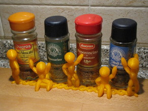 The Thingummies run the spices storage .....