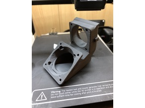 MPSM Stock Dual fan mount 30mm and 40mm