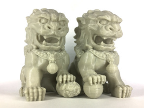Chinese Guardian Lions - Split