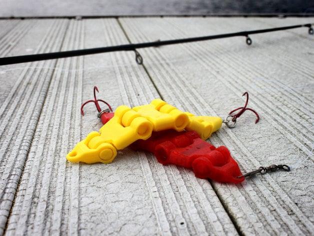 Swimbait Fishing Lure by jakejake - Thingiverse