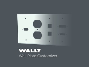 WALLY - Wall Plate Customizer