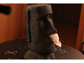 Moai Tissue dispenser