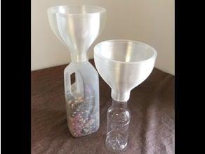 Vase Mode Funnel for Wide Neck PET Bottles (34.7mm)