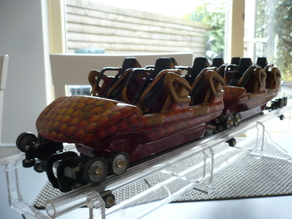 roller coaster train, mk1212 scale model 1:12,5