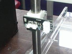 Endstop shaft mount