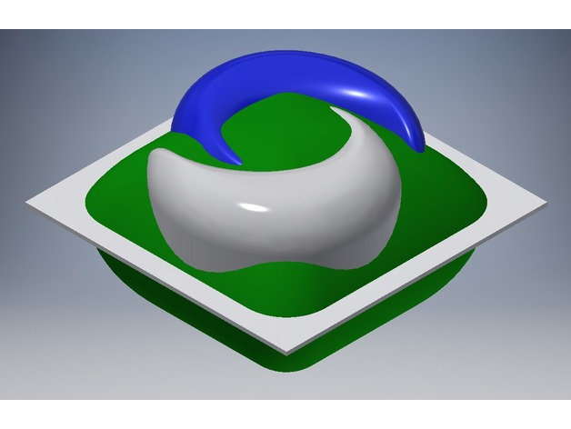 Accurate Tide Pod And Jello Food Mold Thingiverse