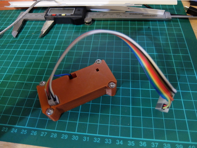 Nucleo ST-Link Case and Connectors by davidji - Thingiverse