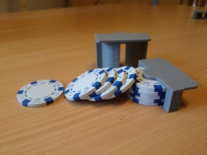Poker Chips Scale