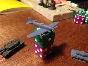 Hawker Typhoon mk1b for microarmor