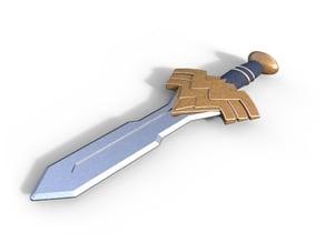 Wonder Woman Sword (injustice concept art)