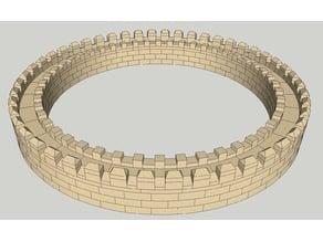Ladrillos Circulares 35x - 41x para Exin Castillos