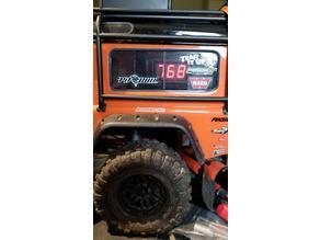 Traxxas TRX-4 Defender Battery Voltage Display