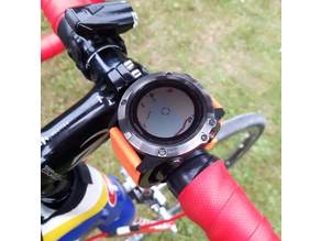 Garmin Fenix or other smart watch bike grip mount