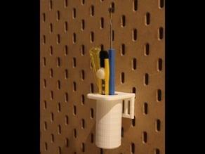 Ikea Skadis Cylinder