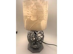 Lithophane Art lamp
