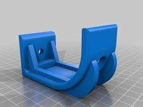 handle-bar holder for bike wall mount