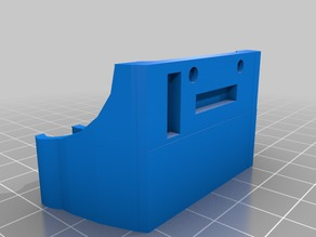 X-Axis End Stop Holder for Prusa I3