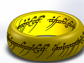 Lord of the Ring's One Ring