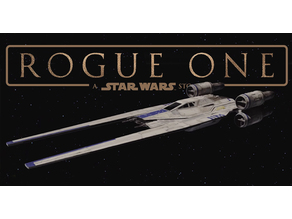 Star Wars Rogue One U-Wing Lithophane
