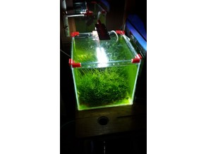 Aquarium cover holder (support couvercle pour aquarium)
