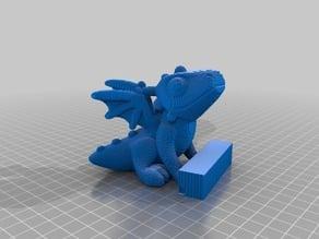 (3D Slash) sittingDragon