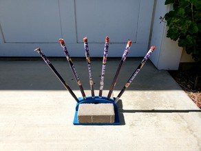 Roman Candle rack (Phantom Fireworks)